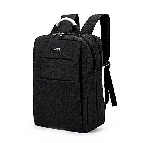 Mefly Neuen Business Rucksack Männer Einfach Outdoor Fashion Business Travel Taschen black