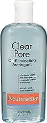 6 Pack - Neutrogena Clear Pore Oil-Eliminating Astringent 8 oz