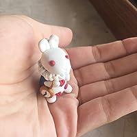 Ciondolo (collana o portachiavi) Bianconiglio/White Rabbit charm (necklace or keyring)