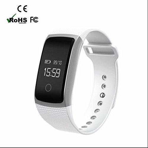 GPS de course Fitness Smartwatch, podomètre GPS montre intelligente, moniteur de fréquence cardiaque montre intelligente, moniteur de sommeil Sport Smartwatch
