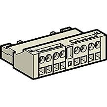 Schneider Electric GVAE113 TeSys GV2 & GV3 Bloque de Contacto Auxiliar Frontal 1 NA + 1 NC, Juego de 10