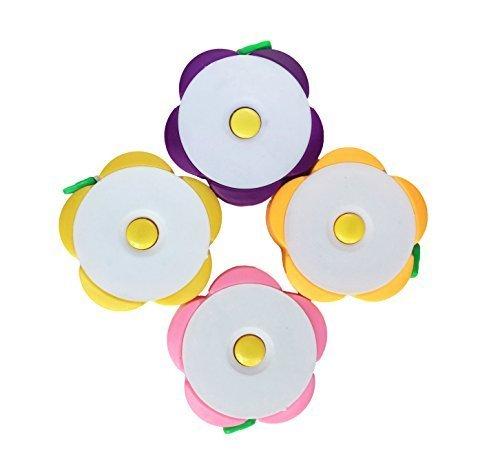 kingdeson Nützliche 152,4cm 1.5Meter Weich Blume Form Ausziehbares Maßband violett