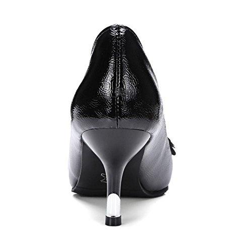 Coolcept Escarpins Femme A Classique Talons Mode Bout Avec Enfiler qpx7pTF5