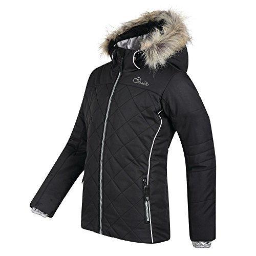 Dare 2b Girls Relucent Polyester Waterproof Breathable Jacket - Coated Twill Jacket