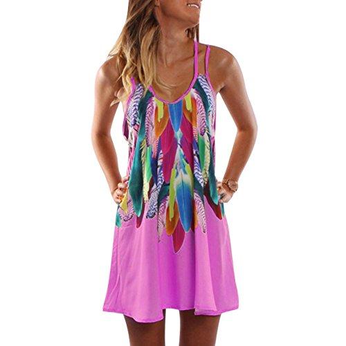 9 Farben Damen Chiffon Strandkleid Solide Sommerkleid Frauen Ärmellos Strand Kleid Boho Halter Beiläufig Lose Tunika Blusenkleider Kurz Partykleid XS-XXXXL