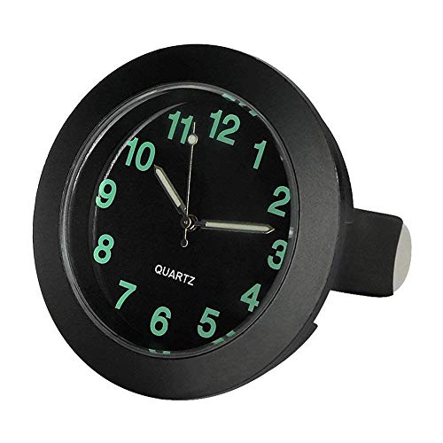 Schneekette Quarz Auto Uhr Air Vent Oldtimer Analog Quarz Clock-Black Case Schneekettenwagen
