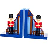 Orange Tree Toy - Traditional Handcrafted Brightly Coloured Children's Wooden Bookends