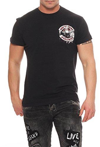 Mafia & Crime Herren T-Shirt SONS Schwarz