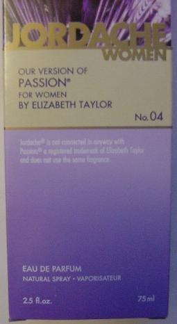 jordache-no-04-our-version-of-passion-for-women-by-elizabeth-taylor-25-fl-oz-75ml-by-jordache