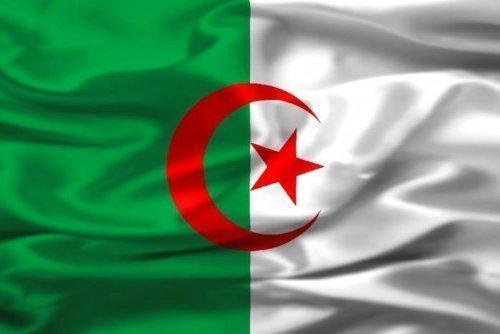 Drapeau supporter Algérie