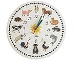 Abbiamo personalmente sviluppato questo orologio per aiutare i nostri bambini a capire l'ora. Gli animali rendono questa idea facile. Ad esempio quando la lancetta grande è sulla pecora significa che è arrivato il momento di andare a dormire. L'orolo...