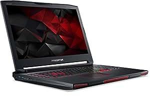 Acer Predator 17 X (GX-791-77MA) 43,9 cm (17,3 Zoll matt Full HD) Laptop (Intel Core i7-6820HK, 16GB RAM, 1000GB HDD, 256GB PCIe SSD, Nvidia GeForce GTX 980 8GB GDDR5X VRAM, Win 10 Home) schwarz