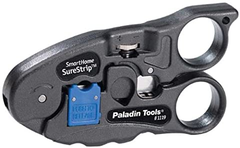 Paladin Tools PA1119 UTP/Coax Surestrip Cutter/Stripper