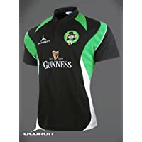 Camiseta Olorun de rugby Drunken Leprechauns Supporters, color negro, tallas de la S a la 4XL