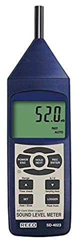 REED Instruments SD-4023 Sound Level Meter Data Logger