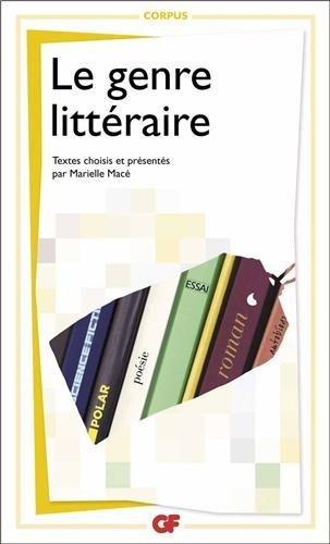 GENRE LITT?RAIRE (LE) N.E. by MARIELLE MAC?