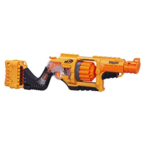 Hasbro Nerf B3189EU4 - Doomlands Lawbringer, (Zombie Gun)