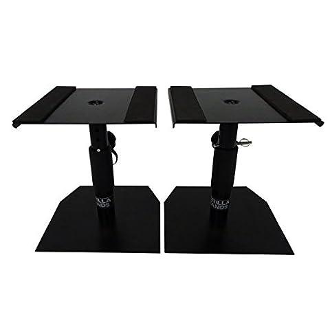 Gorilla GSM-50 Speaker Desktop Studio Monitor Stands Table Top (Pair) inc Lifetime Warranty