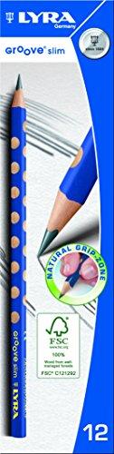 lista dei prezzi Lyra – L1760100 – Confezione da 12 matite in grafite triangolare