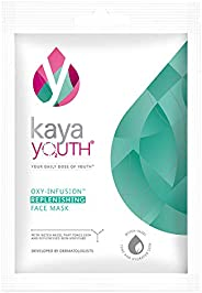 Kaya Youth Oxygen Boost Replenishing Face Mask,15 min Instant Home Facial Mask,Skin Repair & Moisturizatio