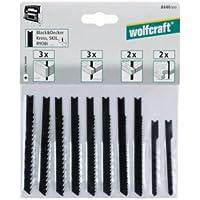 Wolfcraft 8440000 1 Stichsägeblatt-Set B&D, 10-teilig