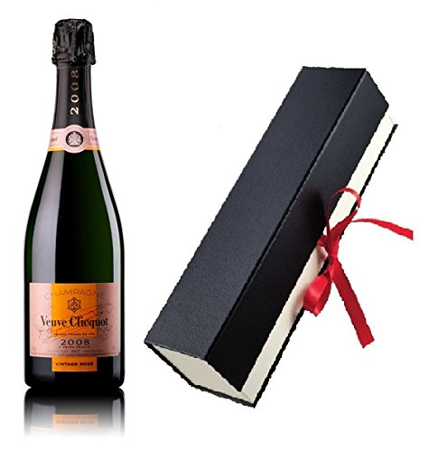 Veuve Clicquot Champagner Rosé Vintage Geschenkfaltschachtel 12% 0,75 l. Fl.