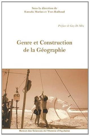 Epistemologie Des Sciences Sociales - Genre et Construction de la