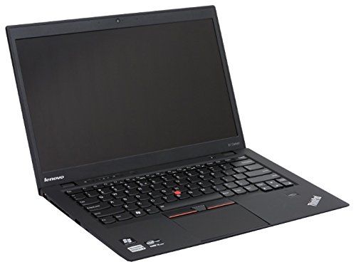 Lenovo ThinkPad X1 Carbon 2nd Generation Ultrabook i7 4600U (4th Gen.) 2.1GHz 2560x1440 (Ultra HD, 4K) 8GB 256GB SSD Win 10 Pro Certified Refurbished