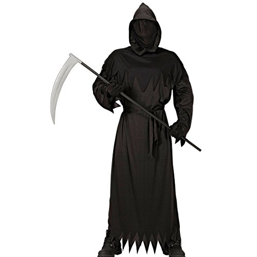 stüm Grim Reaper Outfit 158, 11 - 13 Jahre Halloween Verkleidung Jungen Geisterkostüm (Grim Reaper Kostüm)