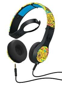 Skullcandy S5CSFY-317 Cassette Supreme Sound Headphone With Mic (Yellow/Black)