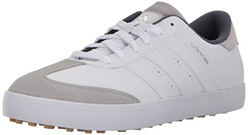 adidas Men's Adicross V Golf Spikeless, FTWR White/FTWR White/Gum 3, 9.5 M US