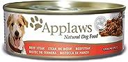 Applaws Dog Tin Beef Steak 156g