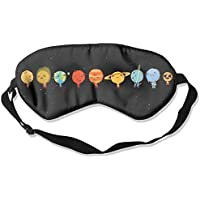 Comfortable Sleep Eyes Masks Funny Planet Pattern Sleeping Mask For Travelling, Night Noon Nap, Mediation Or Yoga preisvergleich bei billige-tabletten.eu