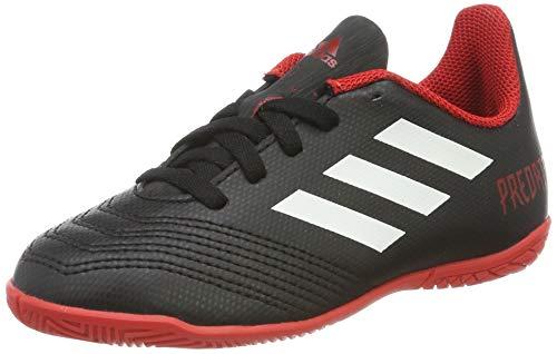 adidas Unisex-Erwachsene Predator Tango 18.4 In Futsalschuhe Schwarz (Negbás/Ftwbla/Rojo 001) 38 2/3 EU