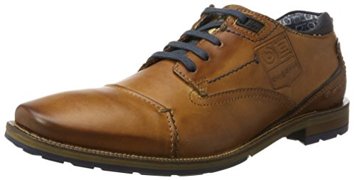bugatti-mens-312311011100-derby39s-brown-cognac-8-uk