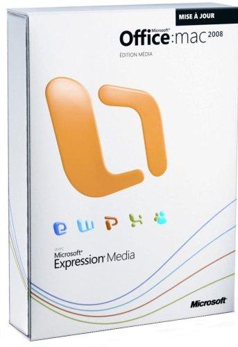 Mise à jour Office Mac 2008: édition Média