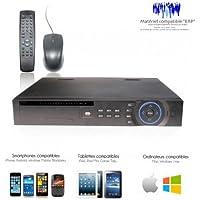 DVR Dahua–DVR 8Canali Professionale, Full D1, uscita Spot, supporta 2dischi rigidi per Ridondanza–dvr-2067/50