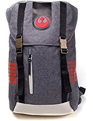 Bioworld Mochila, Color Grey Star Wars: The Last Jedi BP505012STW