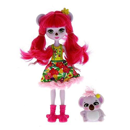 Enchantimals Muñeca Karina Koala con Mascota