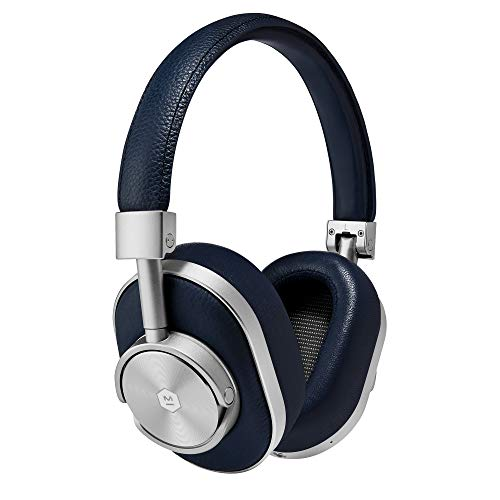 Master Dynamic Definition Bluetooth Headphone - Master & Dynamic MW60 Premium High Definition Bluetooth Wireless Over-Ear Headphone - Navy/Silver (MW60S4)