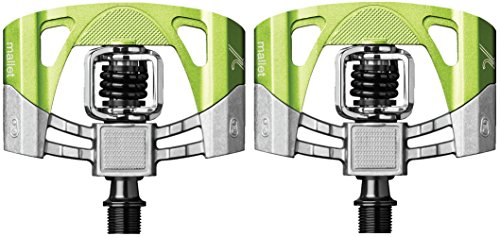 Crankbrothers Mallet 2 Pedal raw/grün 2016 Pedale -