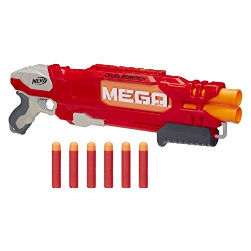 Preisvergleich Produktbild Hasbro Nerf B9789EU4 - MEGA Doublebreach, Spielzeugblaster