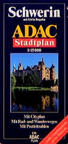 ADAC Stadtplan Schwerin (ADAC Stadtpläne)