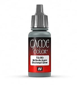 VALLEJO-3072053 72053 Vallejo Game Color METALICOS, Multicolor (3072053)