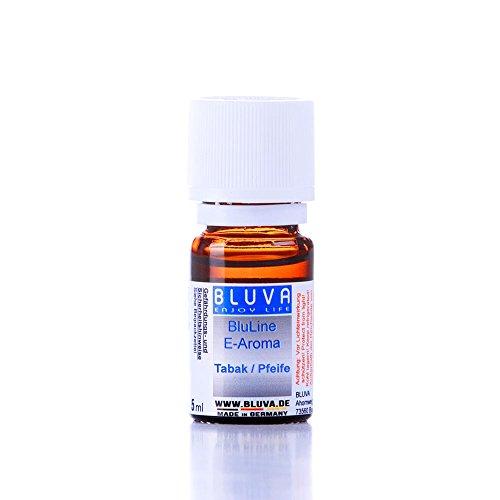 BLUVA BluLine E-Aroma 1x5ml - Tabak/Pfeife - zum Liquid mischen - ohne Nikotin Aroma Pfeife