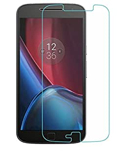 VJOY Antishock Tempered Glass Screen Protector for Motorola Moto G4 Plus and (Single Front Transparent Screen Protector) Freebies Offer : The Great Grand Diwali Deal (Get a VJOY 5200 mAh Power-Bank RED) (1 Year Replacement Guarantee, Li-ion Battery, Long Battery-Life) worth Rupee 1599/- absolutely free with Screen Protector)