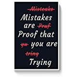 PosterGuy Poster - Keep Trying Inspirational Quotes,Famous Inspirational Quotes,Keep Trying Quotes (A4)