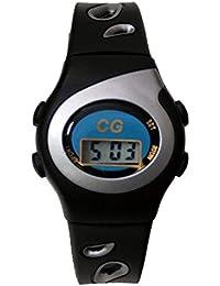 Christian Gar 417-G Reloj Digital para Chica Caja De Resina Esfera Color Gris