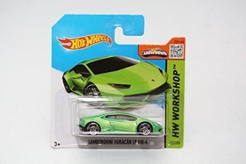 2015 Hot Wheels Lamborghini Huracan Lp 610-4 Short Card 222/250 by Mattel