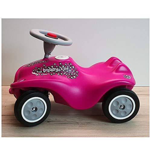 Unbekannt Big New Bobby Car CAT Girl pink grau mit Flüsterräder - be111